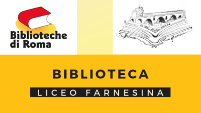 banner biblioteca liceo farnesina
